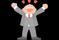 Empresario con una metodología para conseguir resultados